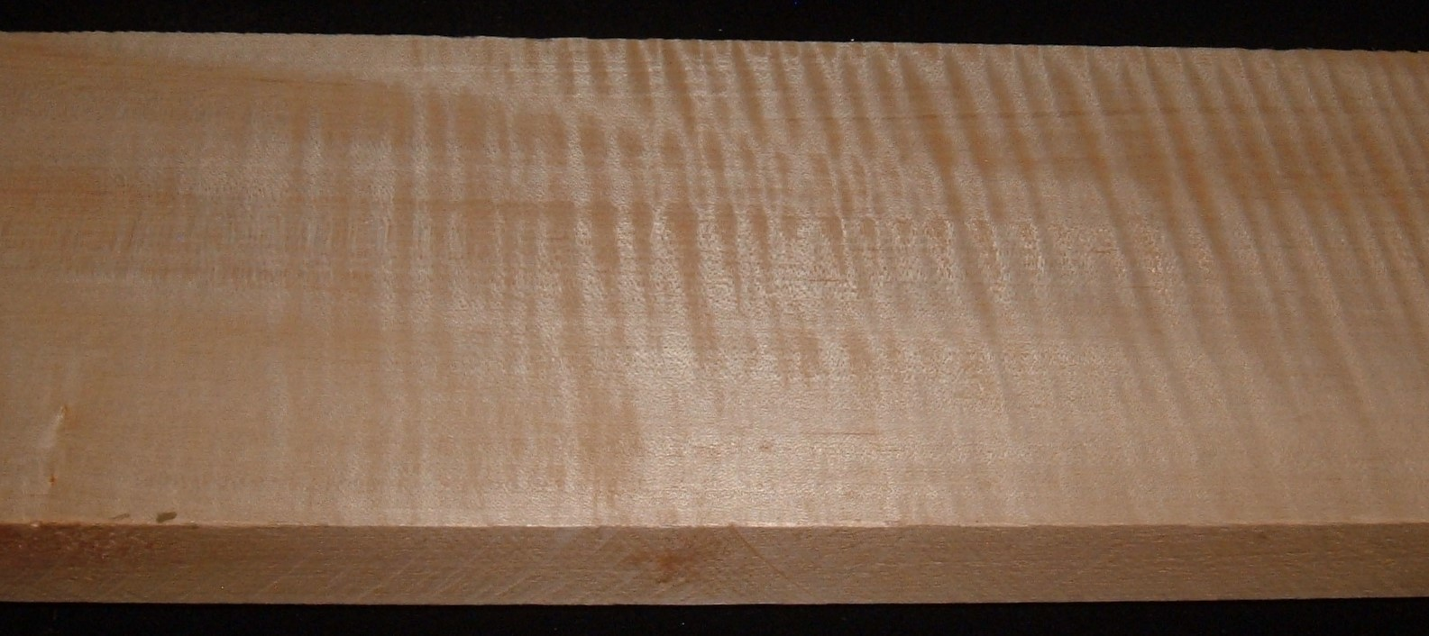 QS2104-61JK, 1-3/16x5-1/2x47, Quartersawn Curly Maple