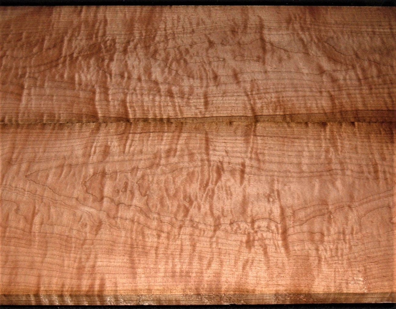 RBM2012-1JJ, 3/4x9-3/8x23, 3/4x9-3/8x23, Curly Tiger Maple, Roasted Book Match