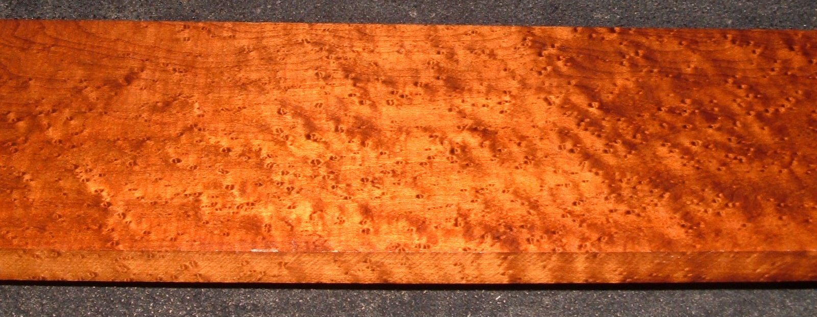 RBM2103-49, 3/4x4x35, Roasted Torrefied Quilted, Birdseye Hard Maple
