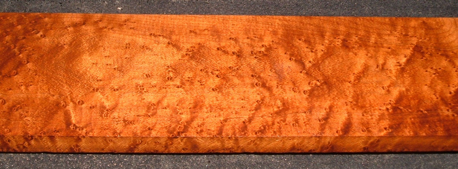 RBM2103-55, 13/16x3x35, Roasted Torrefied Quilted, Birdseye Hard Maple