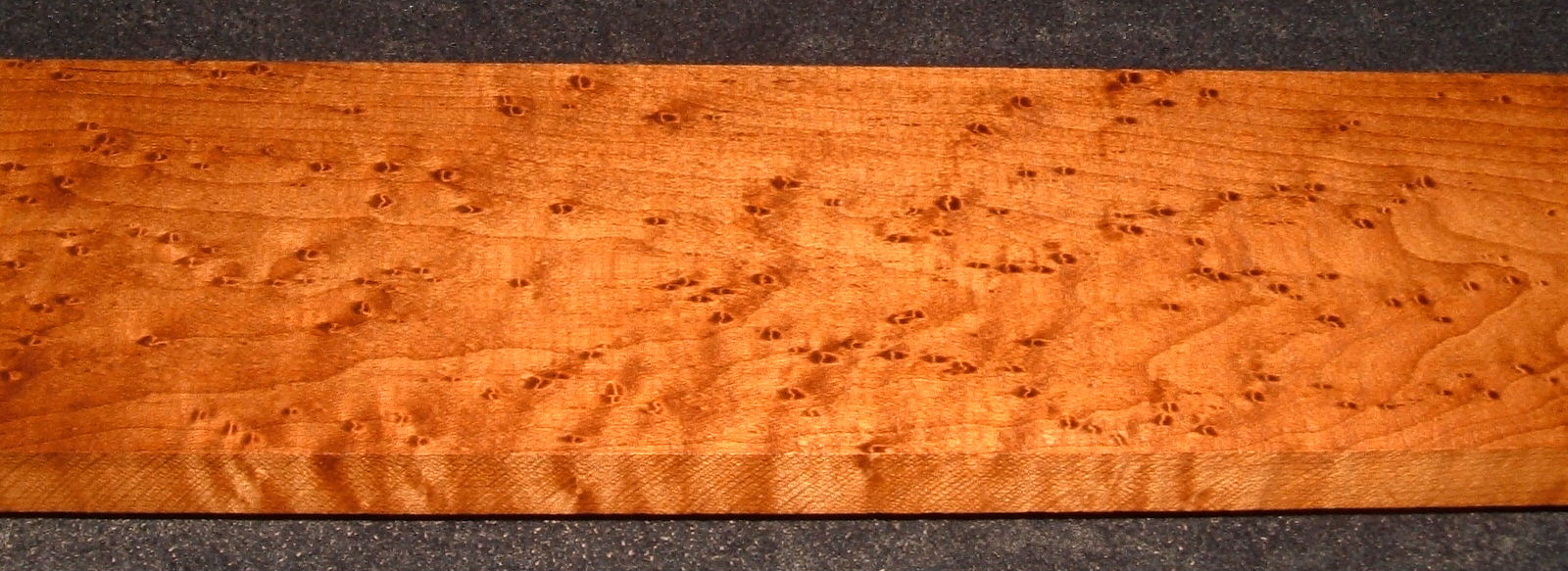 RBM2103-81, 13/16x4x34, Roasted Torrefied Quilted, Birdseye Hard Maple