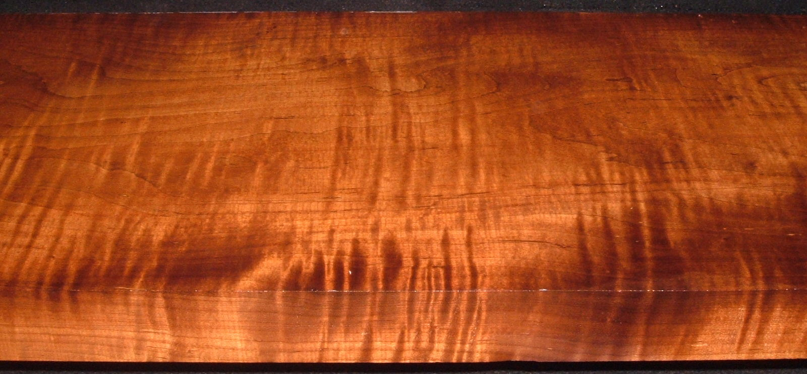 RM2006-197, 1-3/4x10-1/4x54, Roasted Curly Maple