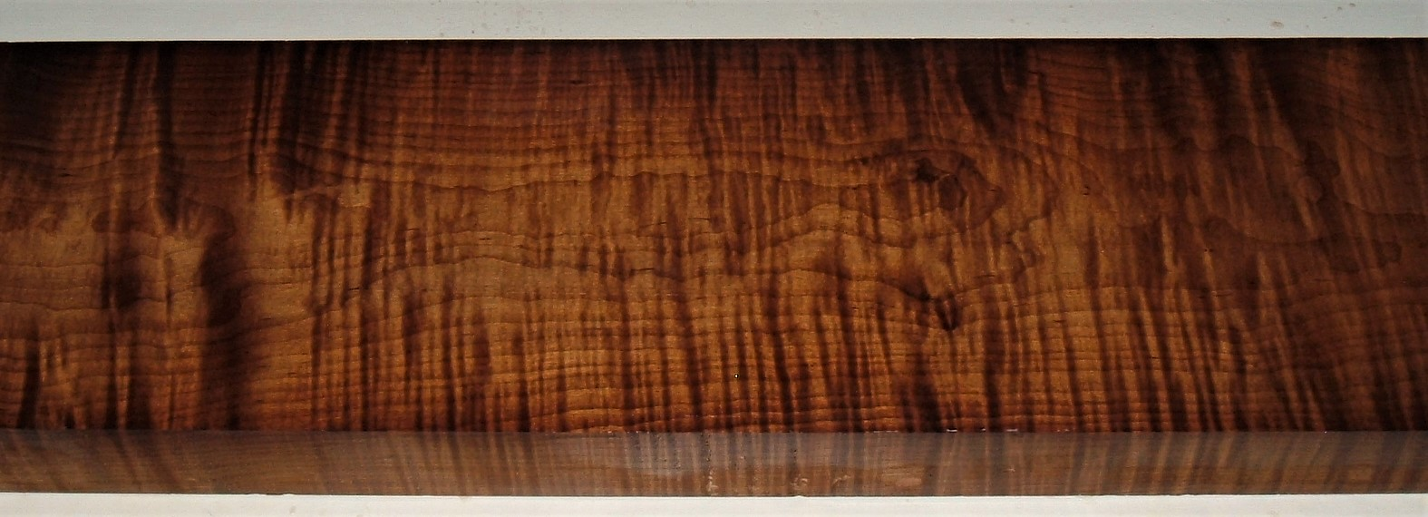 RM2007-202JJ, 2-11/16x5-1/8x53, Roasted Curly Maple