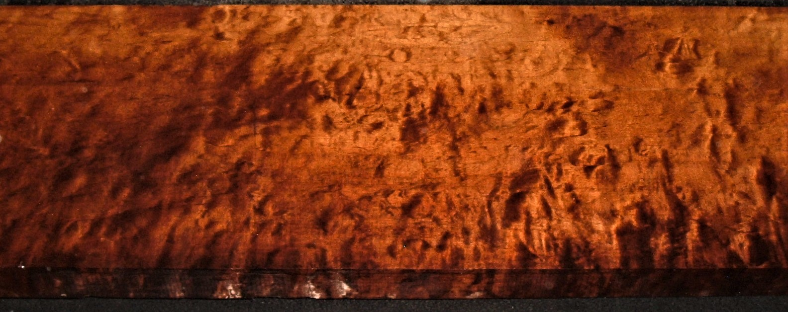 RM2012-388JJ, 1-9/16x10x45, Roasted Torrefied, Curly Tiger Maple