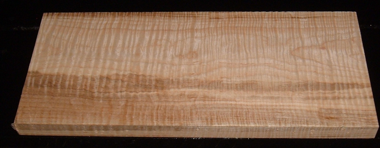 S-2162, 1-1/4x8-7/8x20, 6/4 Curly Tiger Ambrosia Wormy Maple