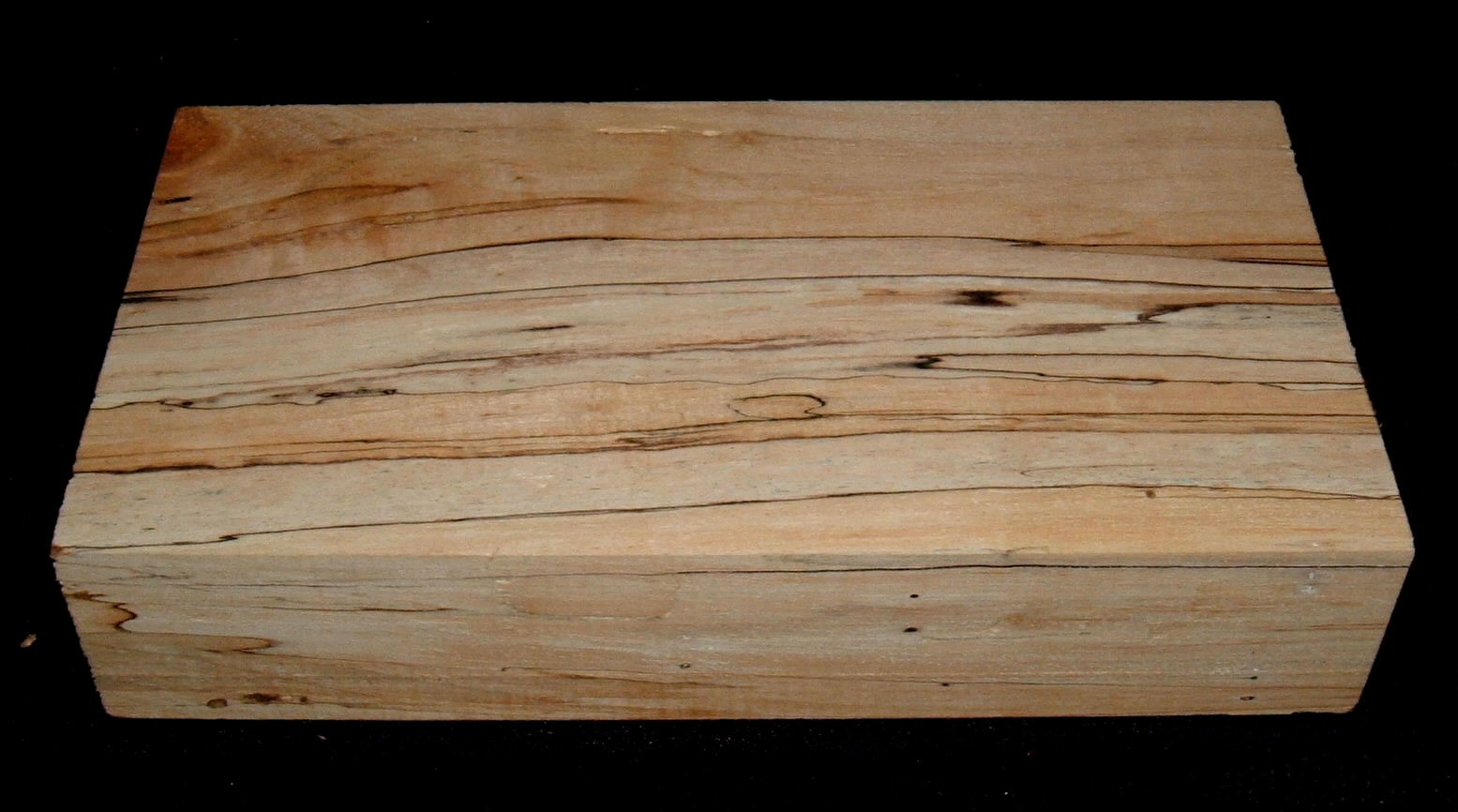 SPMS-3040n, 2-1/8x5-3/8x10+, Spalted Soft Maple