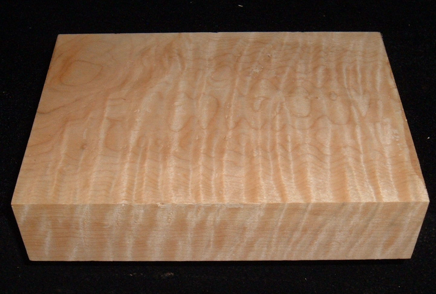 MS-3043n, 1-13/16x5-1/2x7-3/4,  Curly Tiger Maple