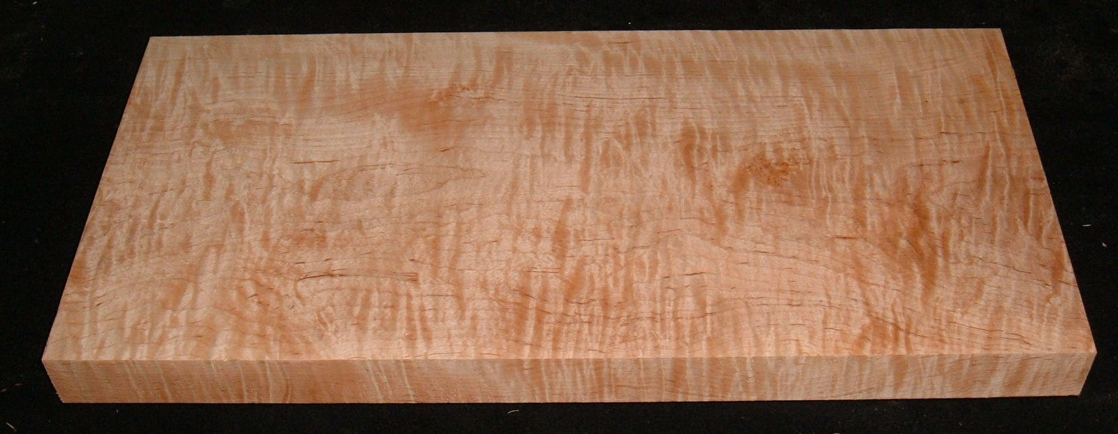 MS-3141, 1-1/2x10-1/4x21, Curly Tiger Maple