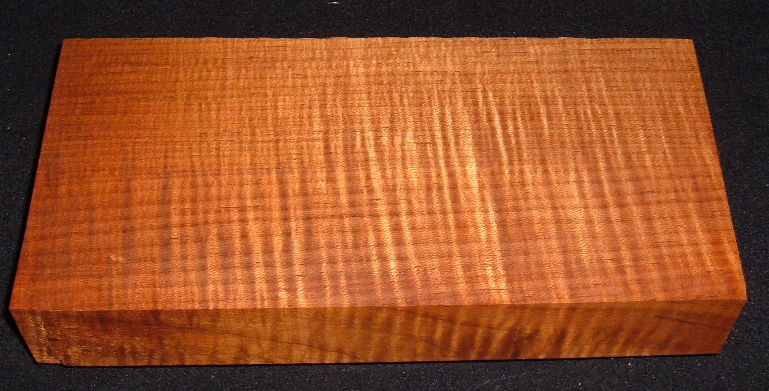 QRMS-3175, 1-7/8x5-1/2x11, Quartersawn Roasted Torrefied, Curly Tiger Maple