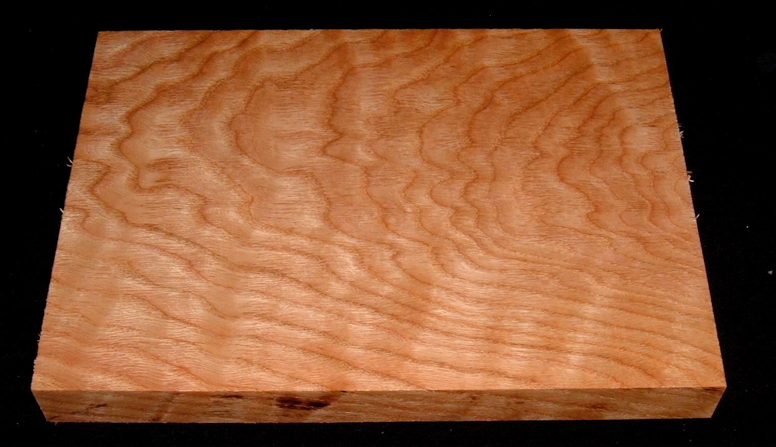 ROS-3177, 1-1/8x7-3/4x10-3/4, Curly Figured Tiger Red Oak