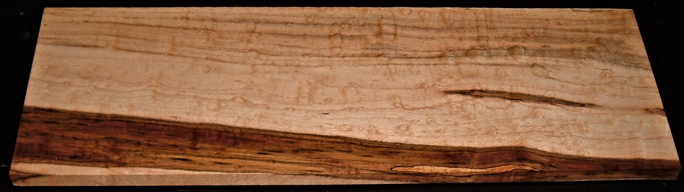 SMS2005-2542JJ, 9/16x6x18, Spalted Maple Bubbling Figure