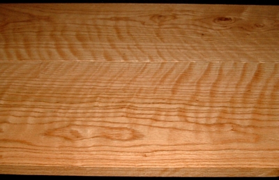 RO2003-17L, 2 Bd Set, +7/8x9x52, 15/16x8x52, Curly Figured Tiger Red Oak