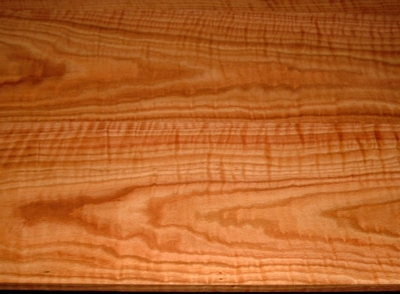 RO2003-18, 3 Bd Set, 15/16x9-1/2x36, +7/8x9-5/8x36, 15/16x9-3/8x36, Curly Figured Tiger Red Oak