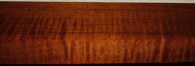 QRM2003-79, 1-5/16x3-1/4x32, Roasted Torrefied, Curly Tiger Quartersawn Maple