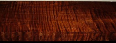 QRM2003-84, 15/16x4-3/8x35, Roasted Torrefied, Curly Tiger Quartersawn Maple