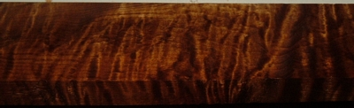 QRM2003-86, 1x2-11/16x37, Roasted Torrefied, Curly Tiger Quartersawn Maple