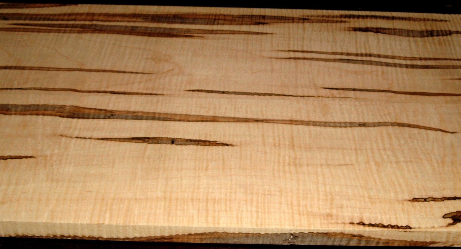 AM2002-21L, 2BD Set, 7/8x7-1/8x53 ,7/8x6-3/4x53, Curly Ambrosia Maple, Cut from same Plank