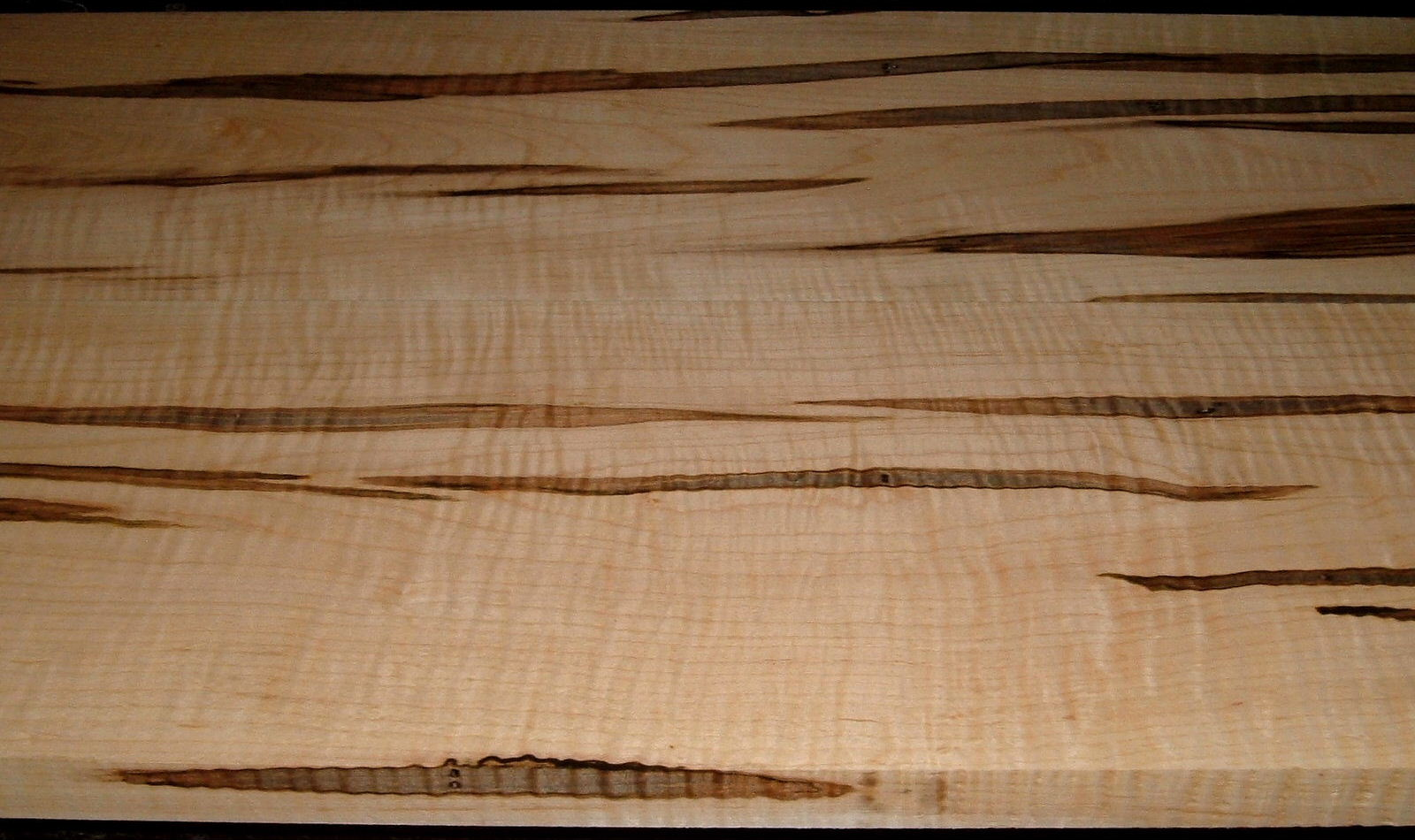AM2005-82L, 2bds, +1x8-3/4x49+, +15/16x8-3/4x49+, Curly Tiger Ambrosia Wormy Maple, Nicely matched set