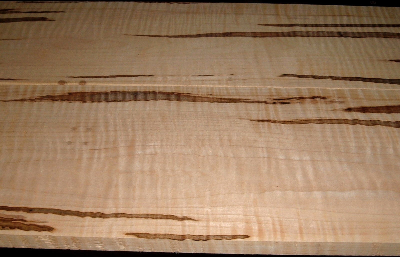 AM2005-95, 2bds, +7/8x8-3/4x55, 7/8x9-3/4x55, Curly Tiger Ambrosia Wormy Maple