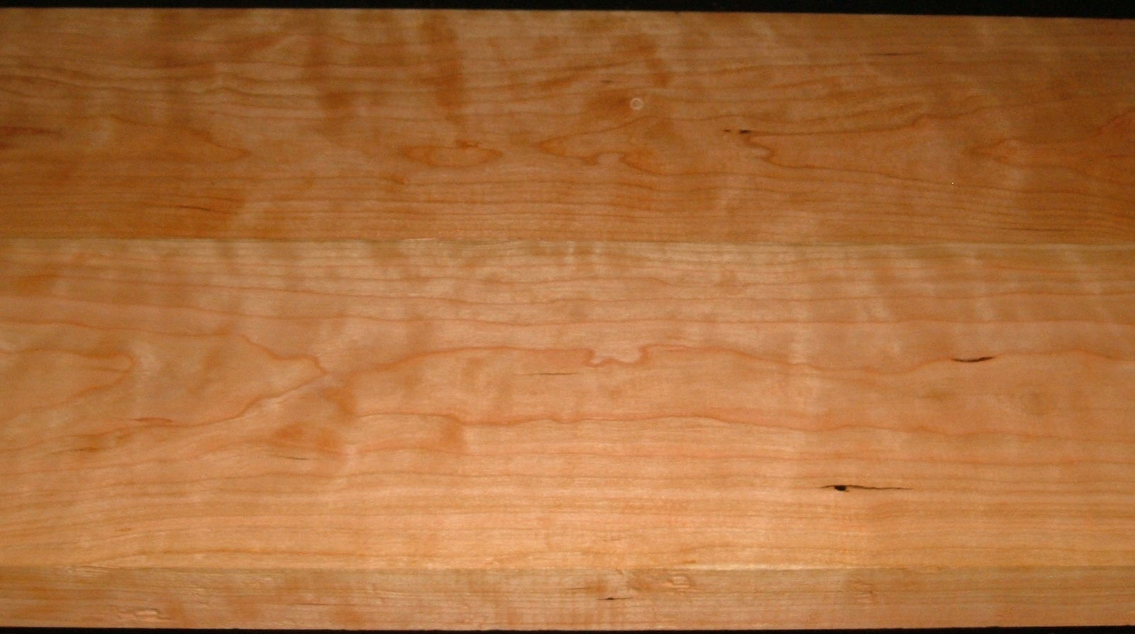 C2004-68,1-3/8x7x42, 1-5/16x7-1/2x42 , Curly Figured Cherry, (cut from same plank)