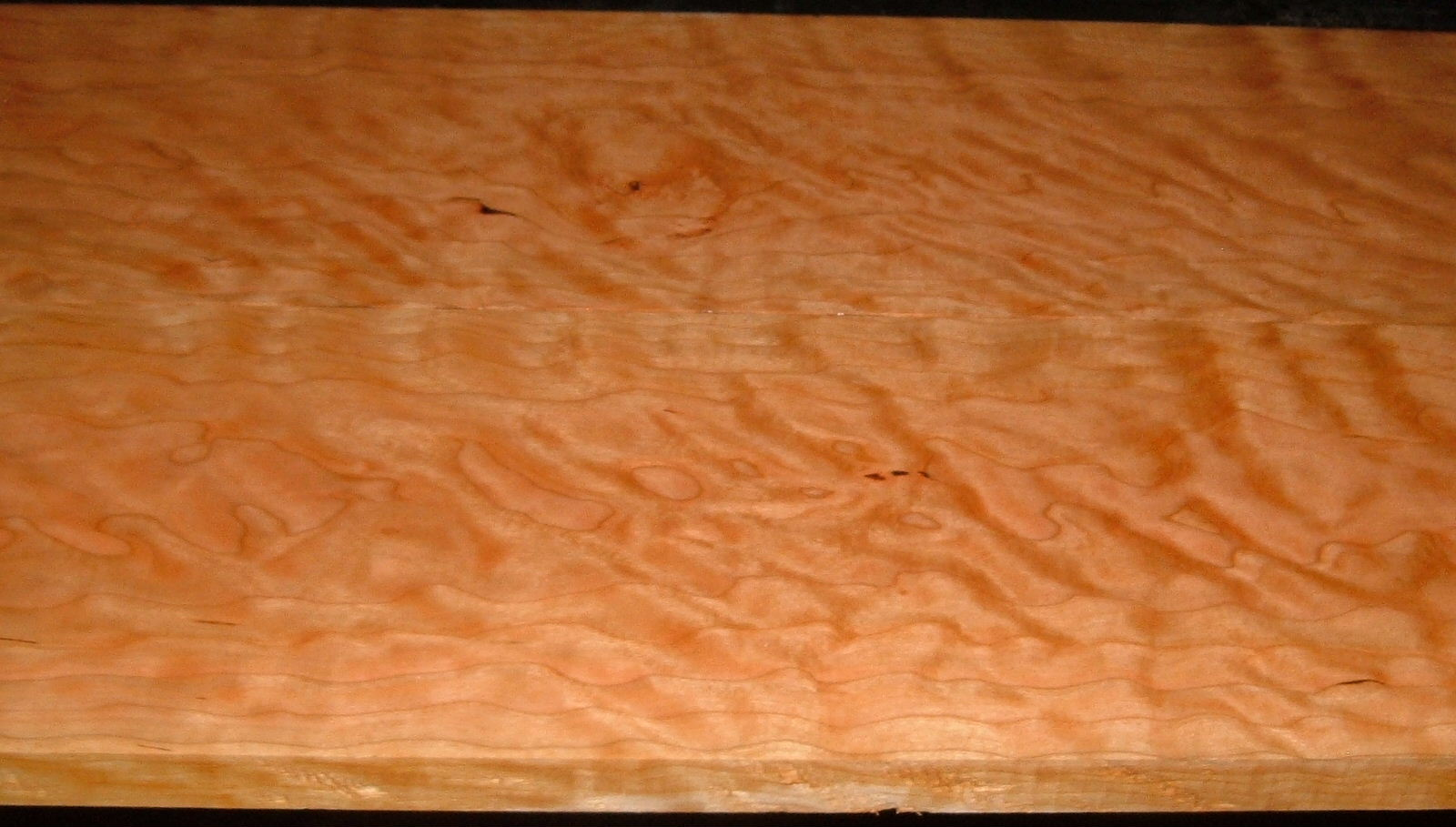 C2004-81,15/16x7-1/4x57, 7/8x7-1/4x57, Curly Figured Cherry, (cut from same plank)