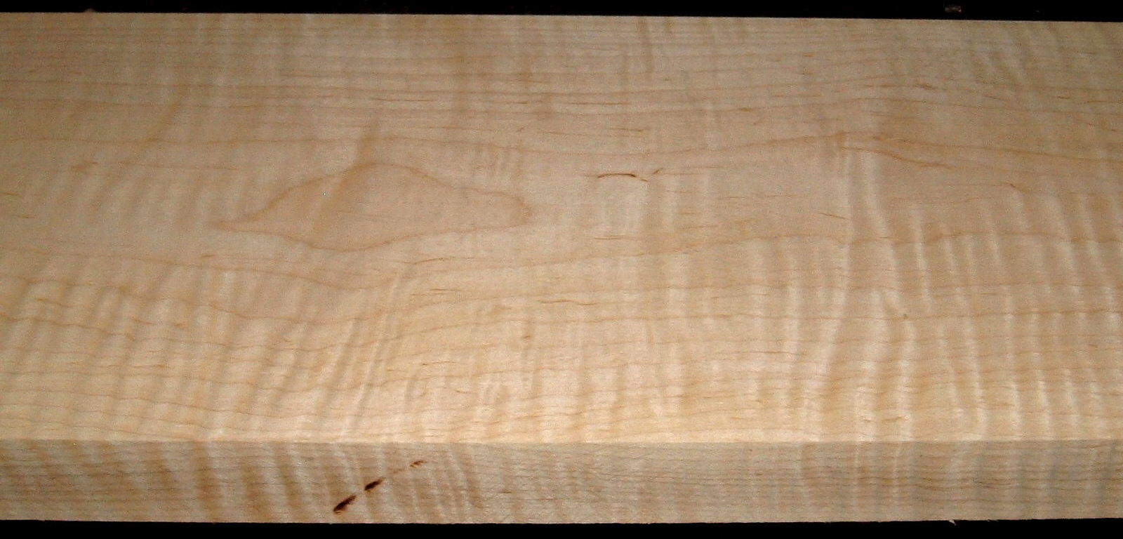 M1908-365, 1-3/4x9-1/2x43	, Curly Tiger Maple