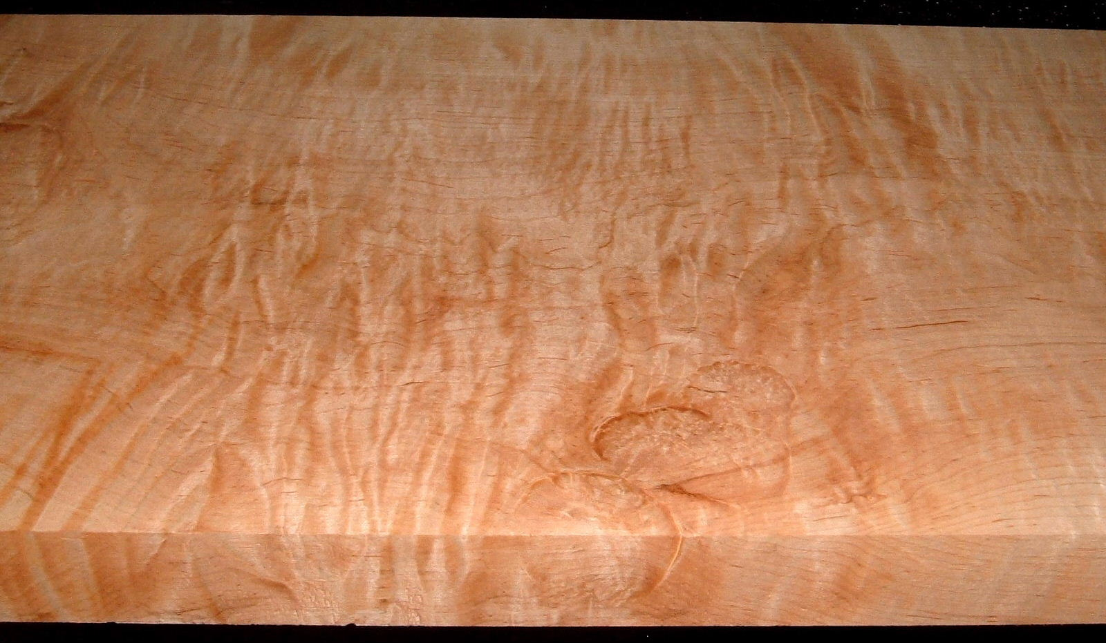 M2008-692, 1-3/4x13-1/2x43, Curly Tiger Maple