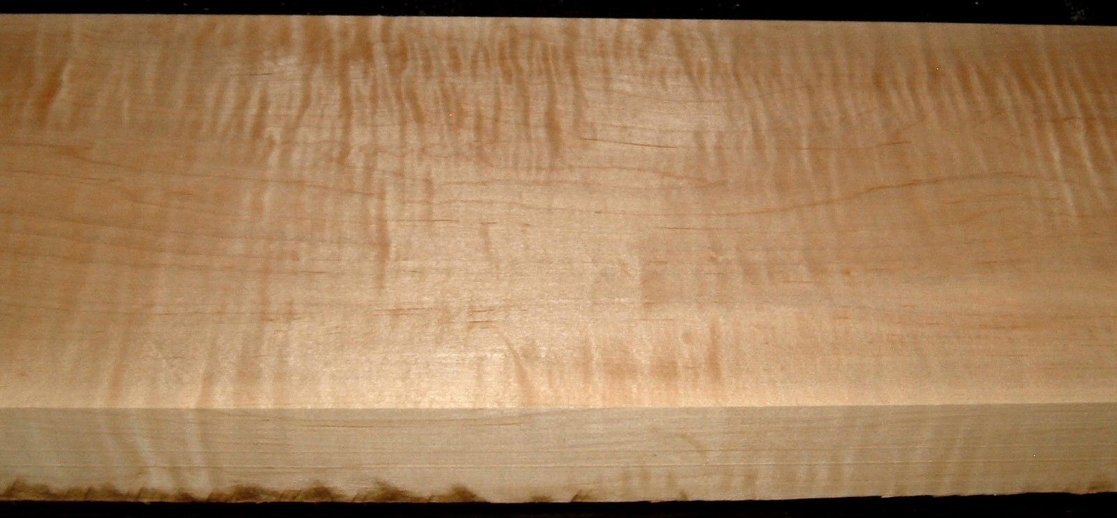 M1912-498, 1-7/8x7x45, Curly Tiger Maple