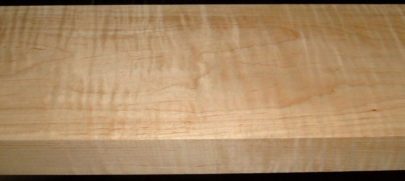 M1912-511, 1-3/4x6-1/4x43, Curly Tiger Maple