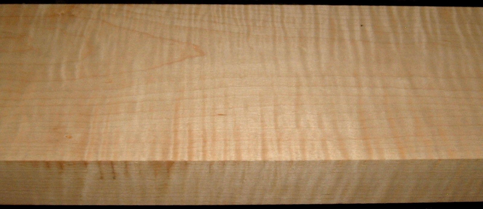 M2002-128, 1-15/16x5-3/4x47, Curly Tiger Maple