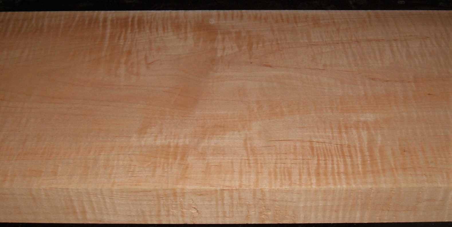M2003-181JJ,  1-3/4x11-1/8x44, Curly Tiger Maple