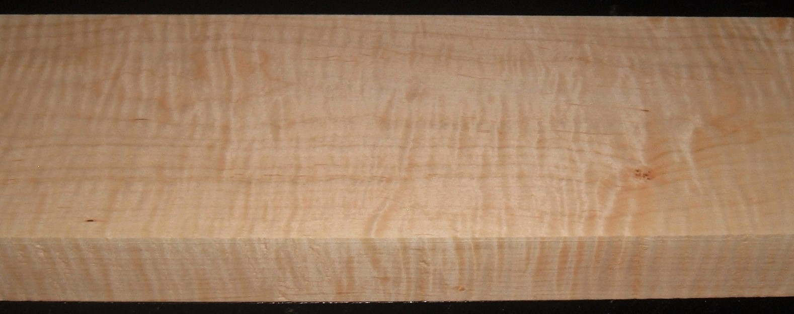 M2004-374JJ, 1-13/16x6-5/8x57, Curly Tiger Maple