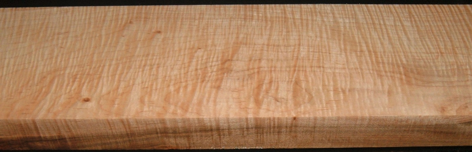 M2004-383JJ, 1-13/16x6-3/8x49, Curly Tiger Maple