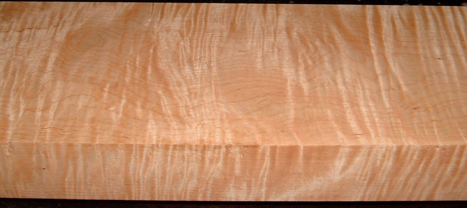 M2005-445, 2-3/4x7-1/2x52, Curly Tiger Maple