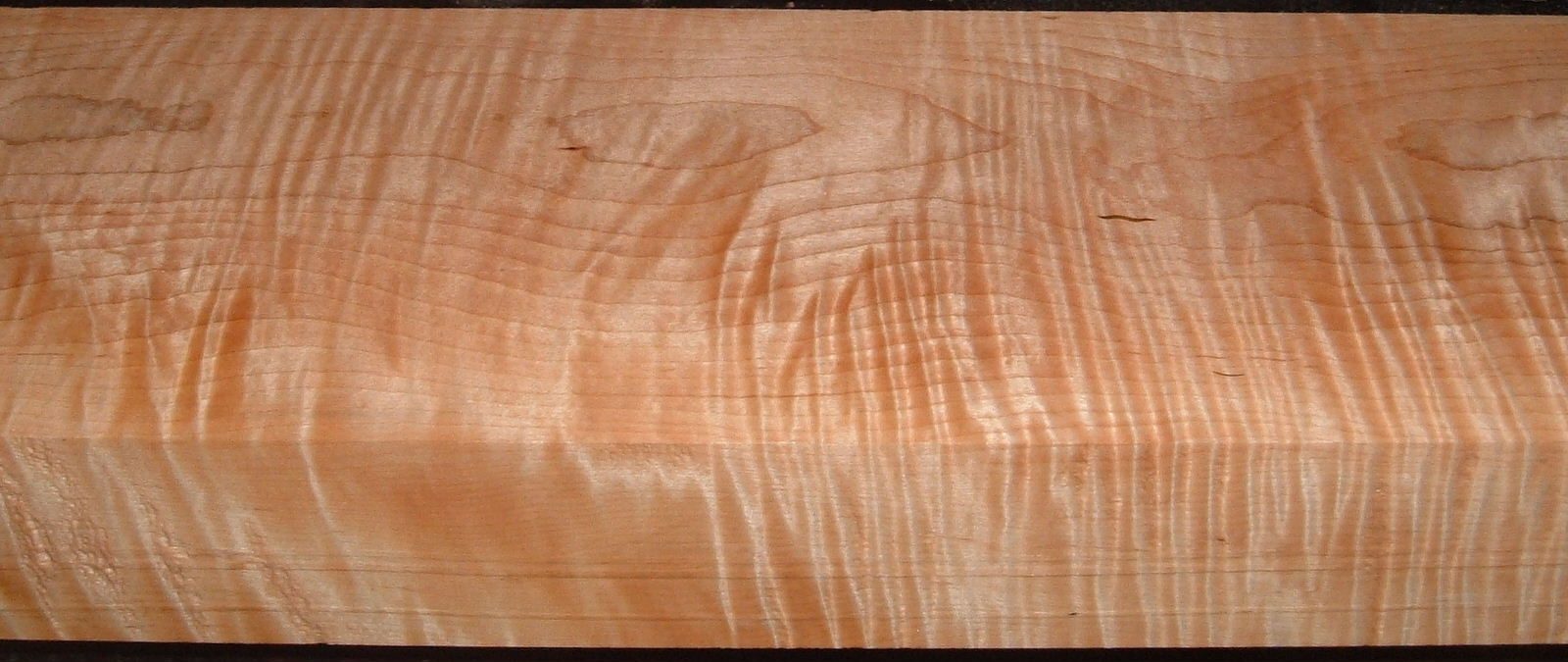 M2005-449, 2-5/8x5-3/4x40 , Curly Tiger Maple