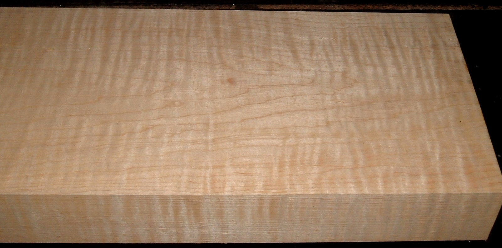 M2006-481, 2-1/8x7-1/2x44, 8/4 Curly Tiger Maple