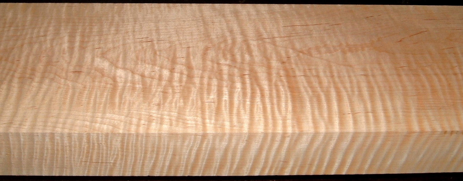 M2006-483, 1-7/8x5-1/2x55, 8/4 Curly Tiger Maple
