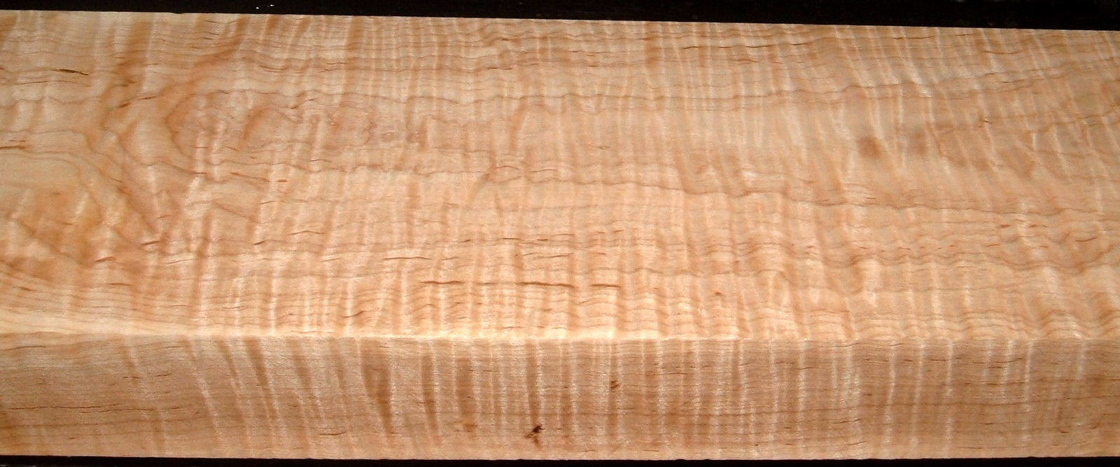 M2006-487, 2-1/8x6x39, 8/4 Curly Tiger Maple