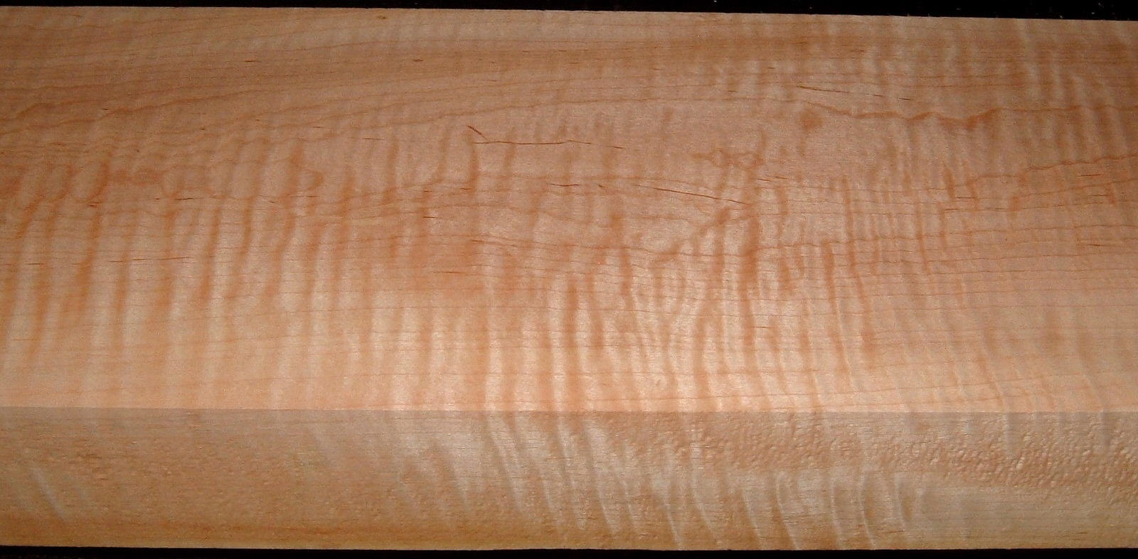 M2008-698, 2-5/8x7-1/2x40, 12/4 Curly Tiger Maple