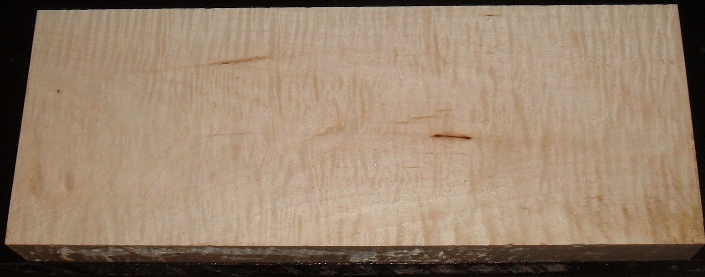 S-2324Y, 1-13/16+X6-7/16X17, Curly Tiger Maple