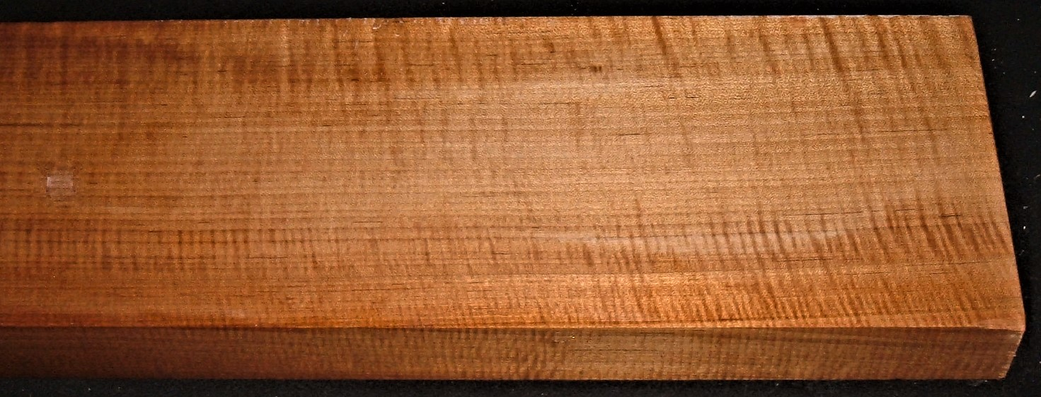 QRM2009-151JK, 1-7/8x7x48, Quartersawn Roasted Curly Maple