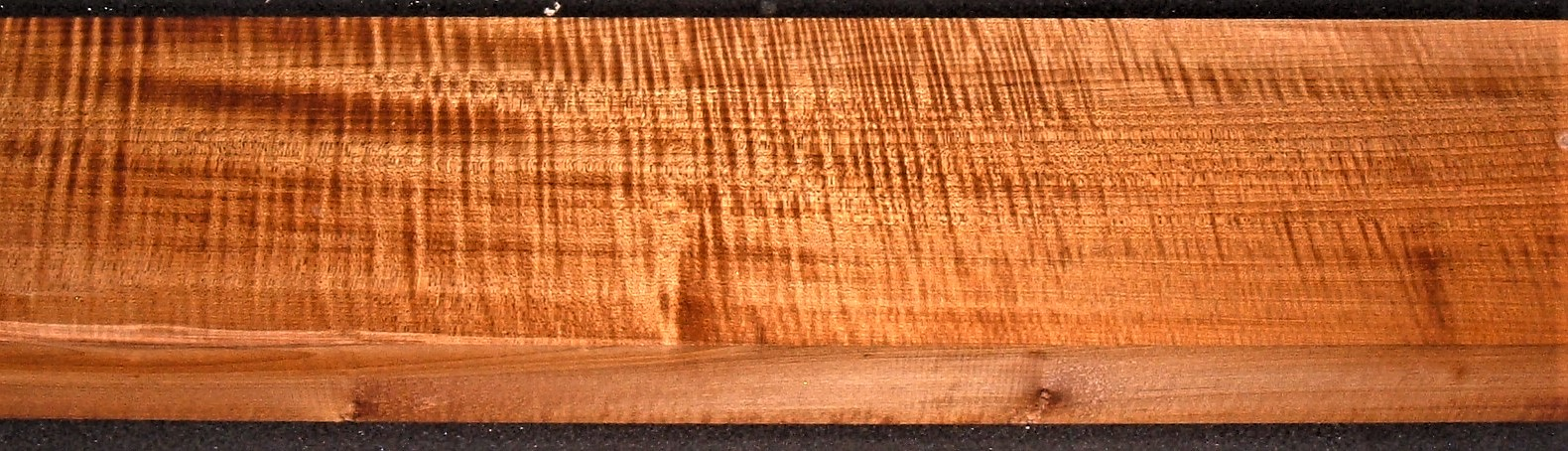 QRM2009-155JK, 1-7/8x5-7/8x48, Quartersawn Roasted Curly Maple
