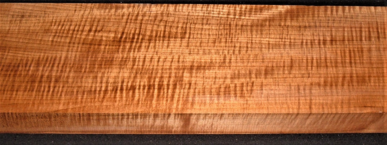 QRM2009-156JK, 1-15/16x6-7/8x44, Quartersawn Roasted Curly Maple