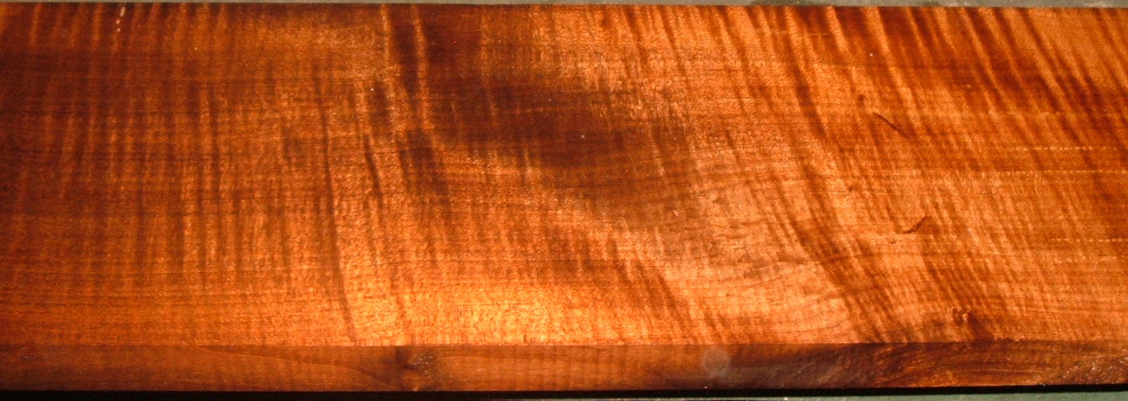 QRM2001-5, 15/16x6x43, Roasted Torrefied, Curly Tiger Quartersawn Maple