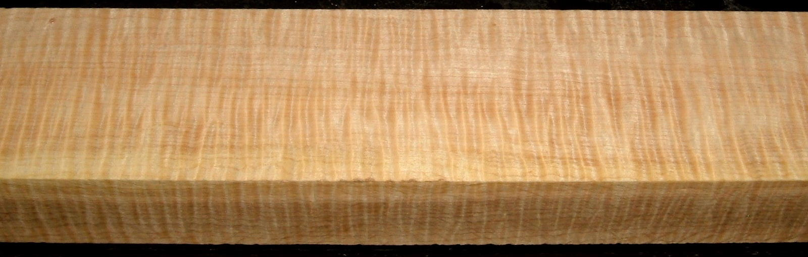 QS2001-12, 1-1/2x2-3/4x38, Quartersawn Curly Maple