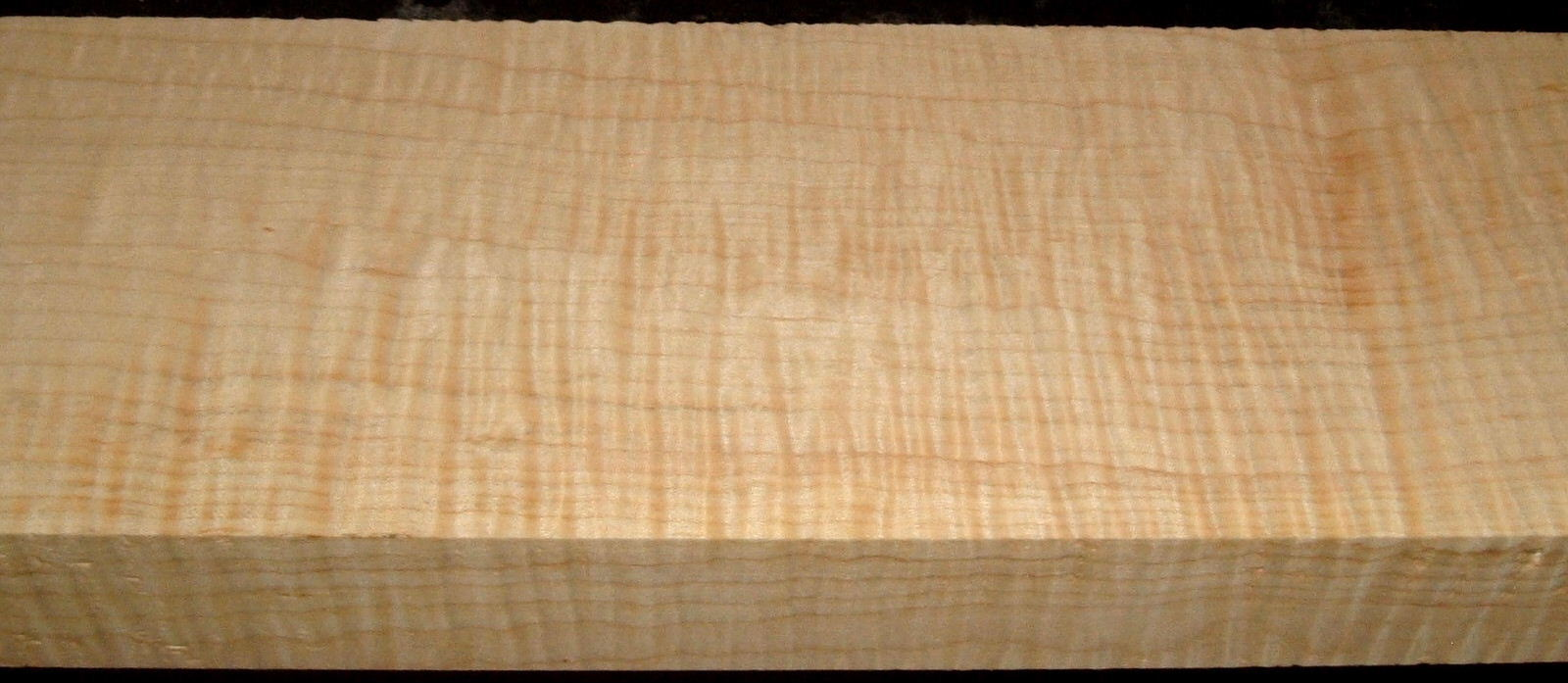 QS2001-1, 1-1/2x4-3/8x32, Quartersawn Curly Maple