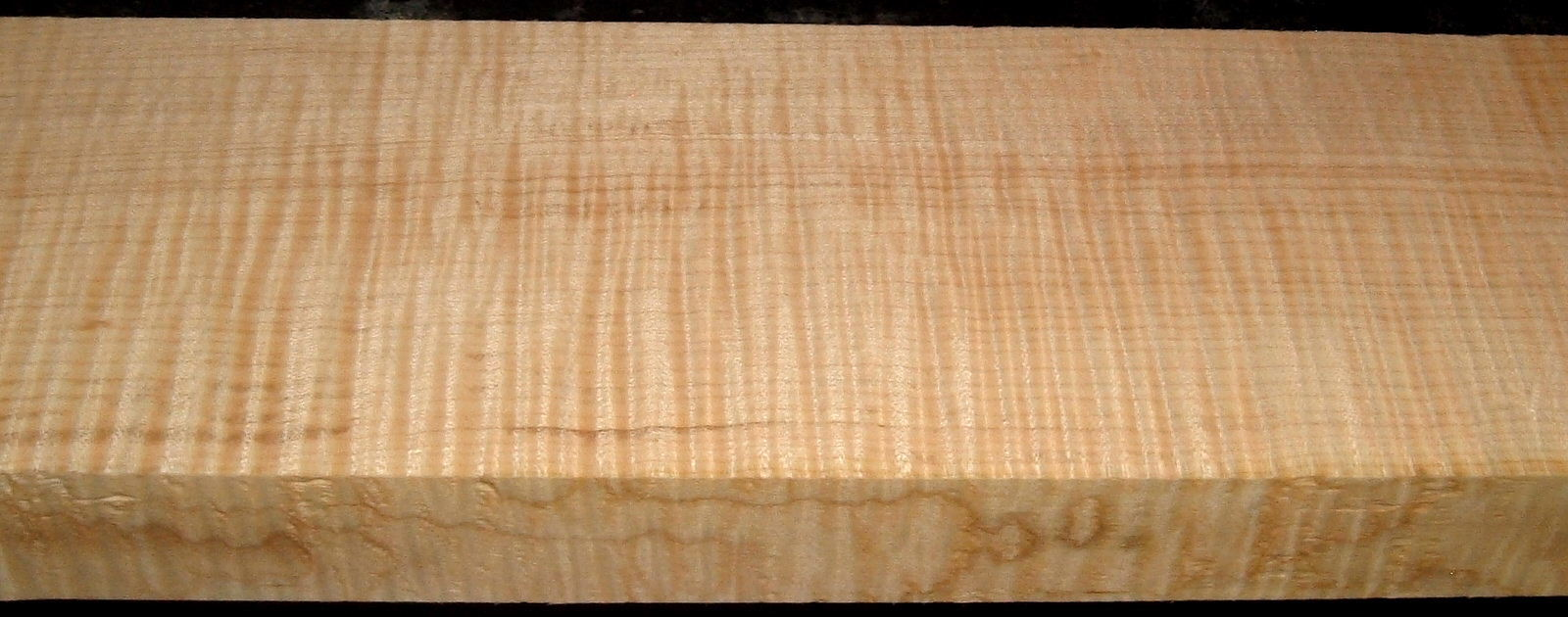 QS2001-2, 1-7/16x4-1/2x35, Quartersawn Curly Maple