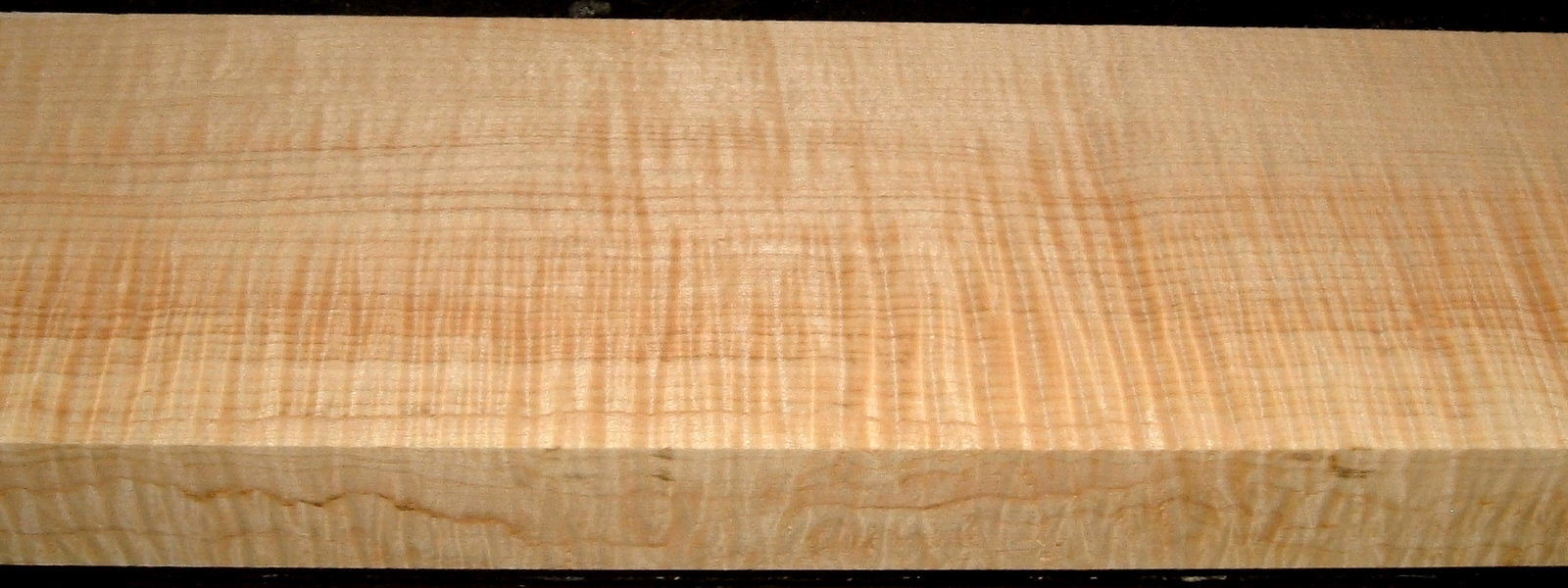 QS2001-3, 1-1/2x4-1/2x39, Quartersawn Curly Maple