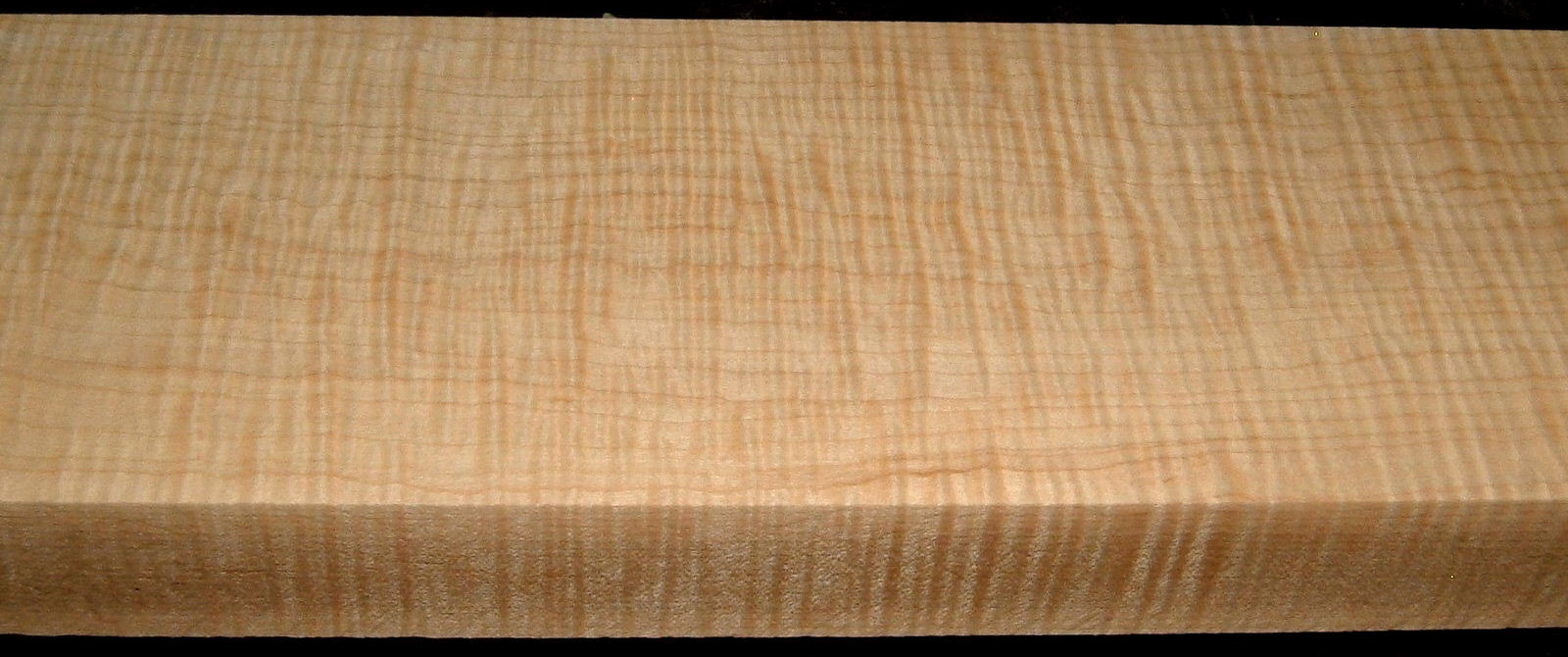 QS2001-6, 1-9/16x5x50, Quartersawn Curly Maple