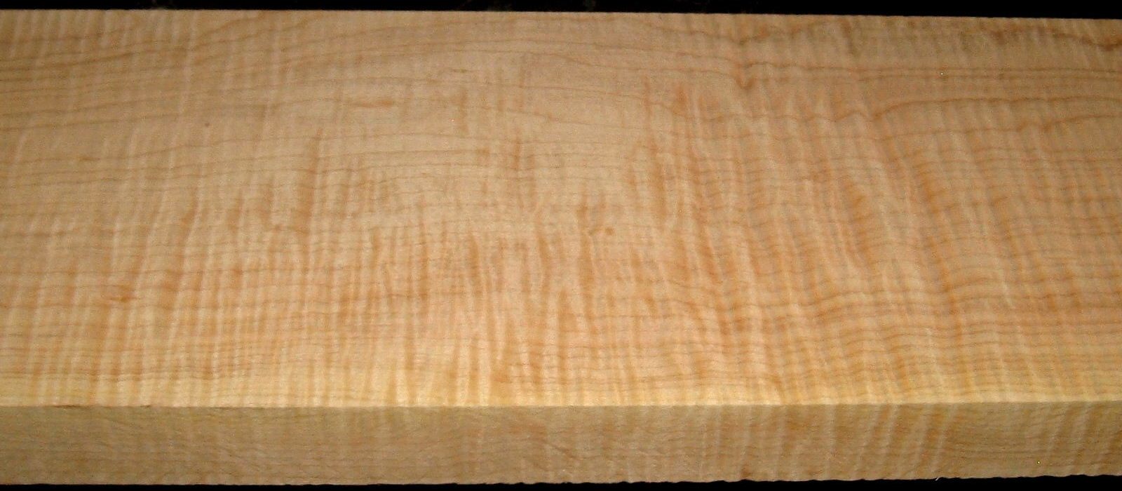 QS2001-7, 1-7/16x6-3/8x40, Quartersawn Curly Maple